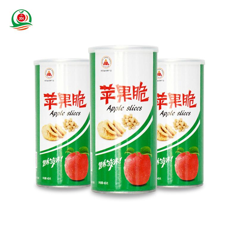 兴华苹果脆罐装45g*3罐