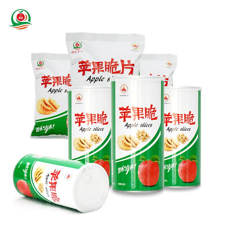 兴华苹果脆4罐3袋