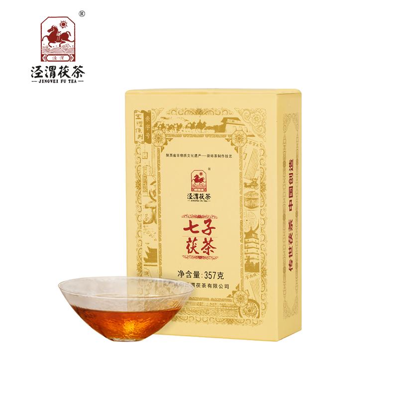 【泾渭茯茶】七子茯357g