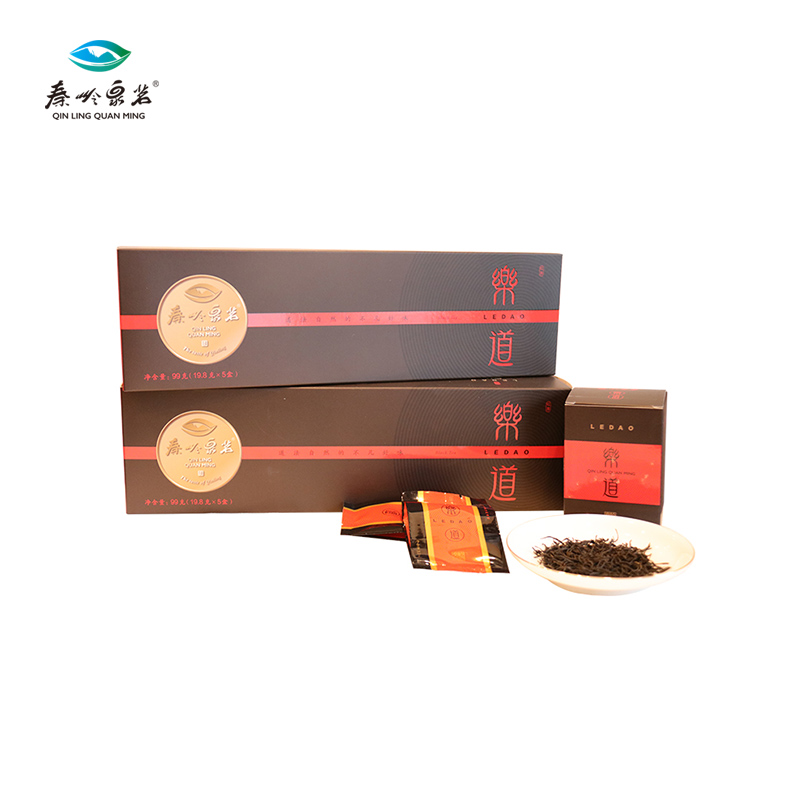 【秦岭泉茗】乐道  红茶99克/盒
