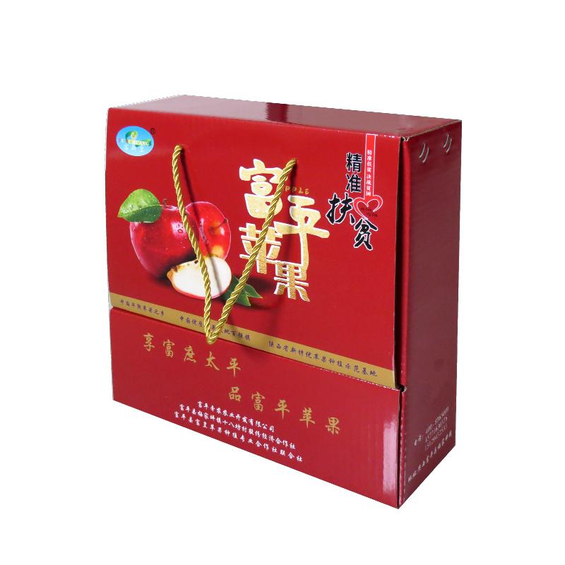 【富平牵农】富士苹果16枚装(10斤)