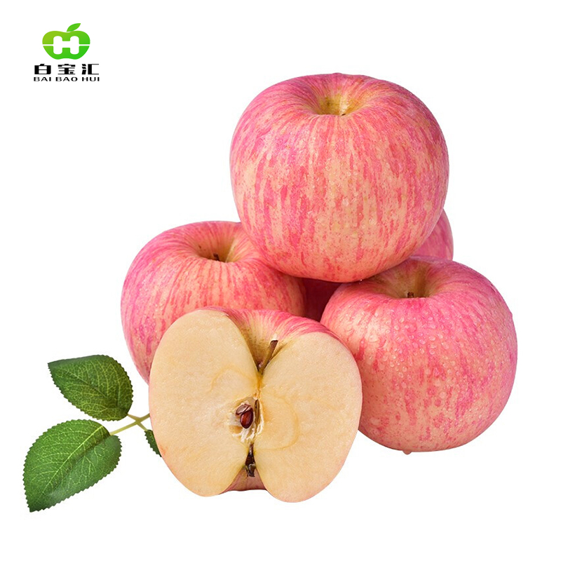 白水富士苹果10斤75-80果