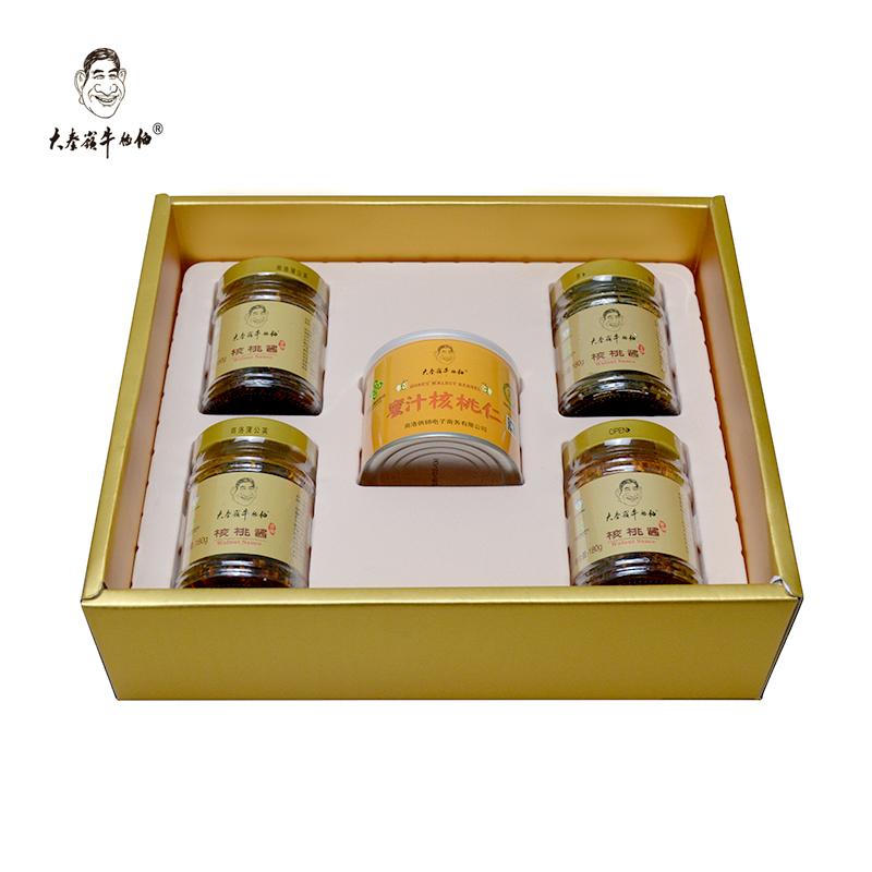 核桃酱+土蜂蜜核桃仁礼品盒