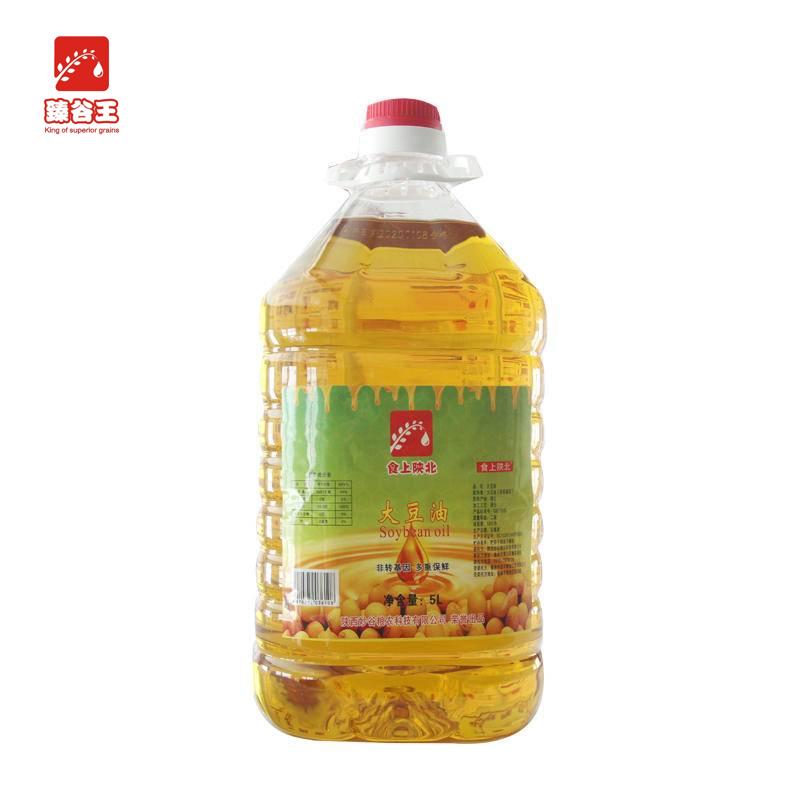 臻谷王  大豆油5L/桶