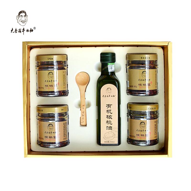 核桃酱+油礼品盒