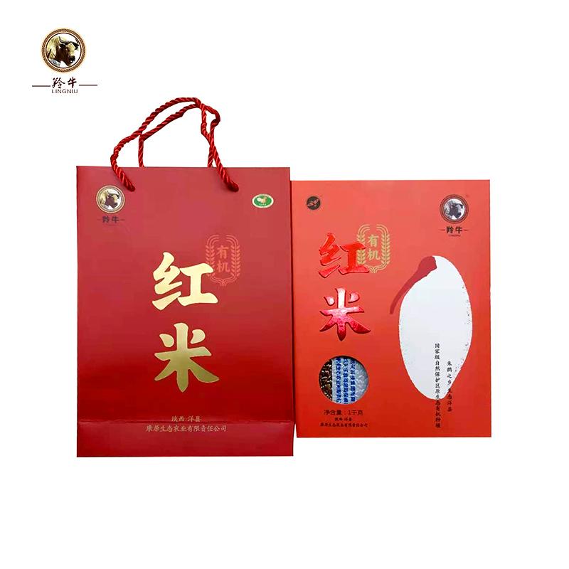 【康原】有机洋县红米 1kg/袋