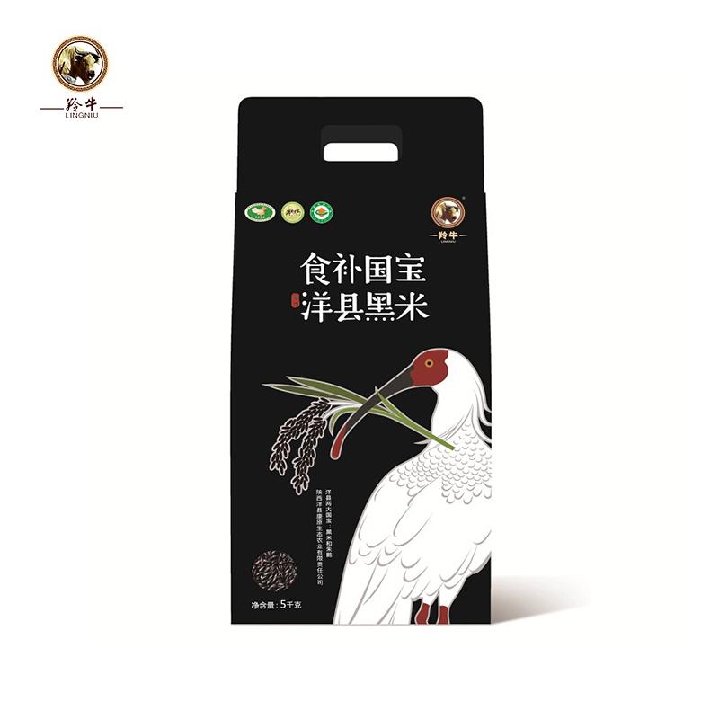 【康原】有机洋县黑米 5kg/袋