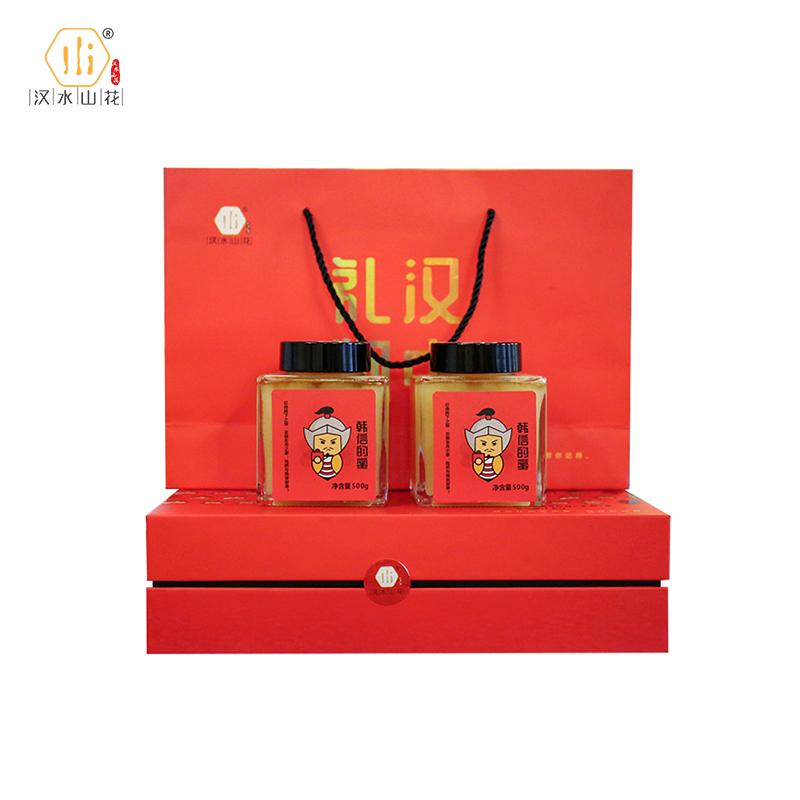 汉水山花  韩信的蜜(枇杷蜜)1000g/盒
