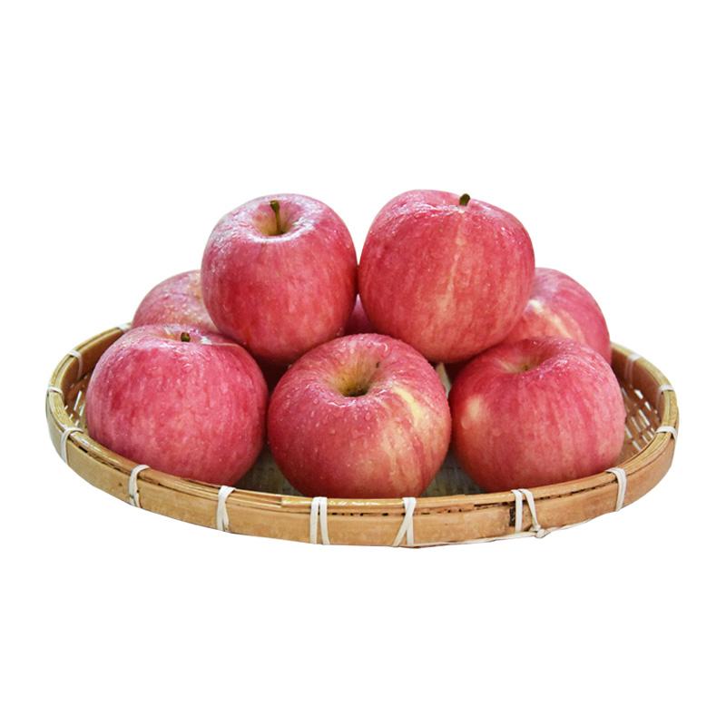 长武红苹果18枚装80mm-84mm