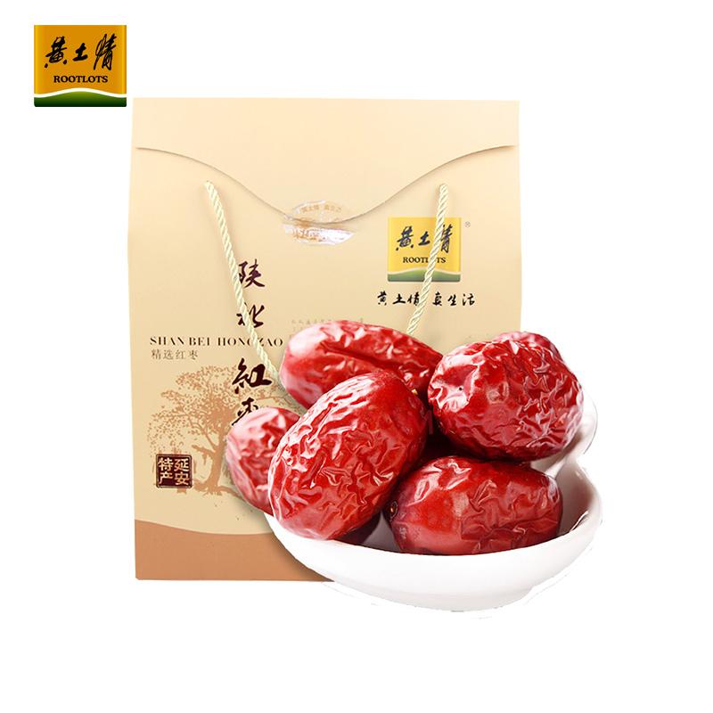 【黄土情】1500g陕北红枣礼盒