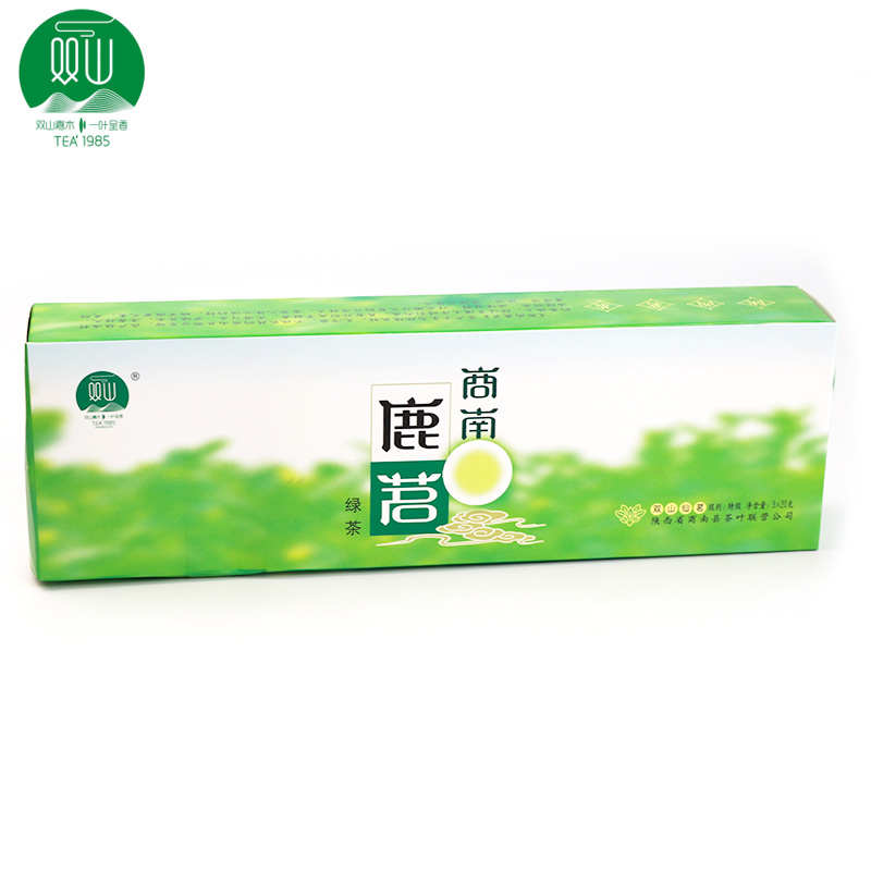 【茶叶联营】双山仙茗商南鹿茗陕西特产100g条装